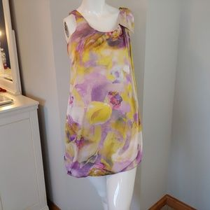 Womens 4 H&M dress sleeveless floral